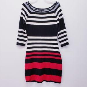 3 for 25 ❤ Derek Heart  - striped sweater dress